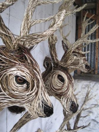 Stag Sculptures