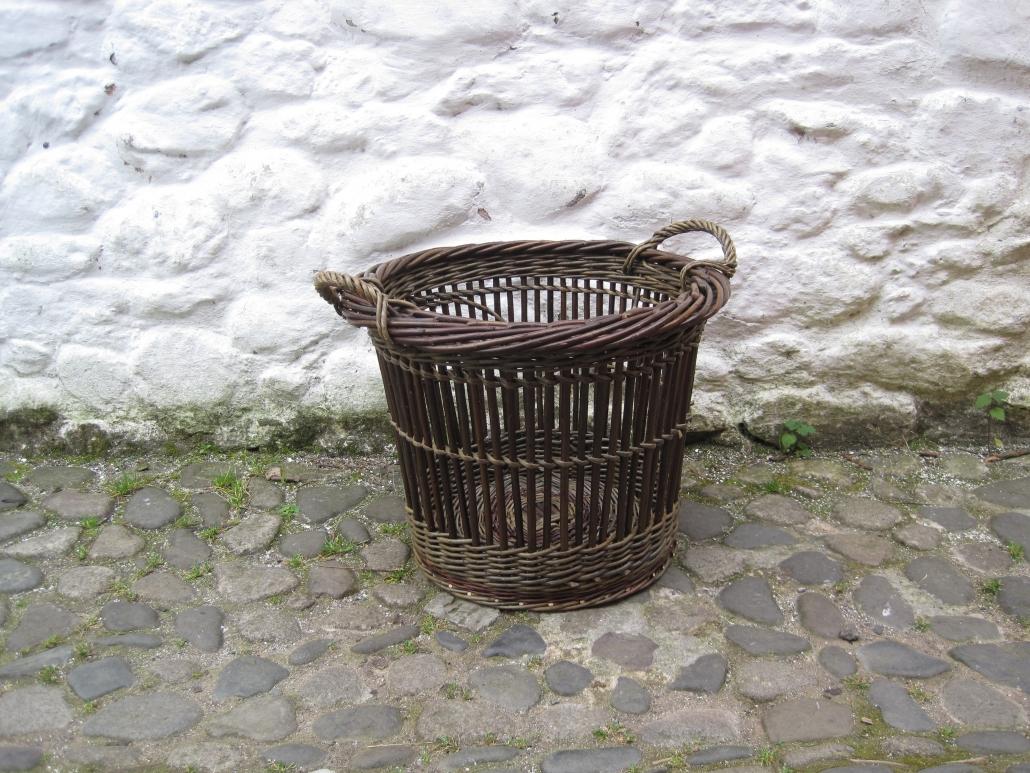fitched log basket