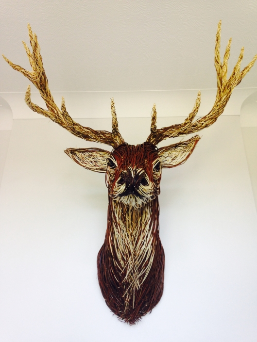 Red Stag Trophy Head