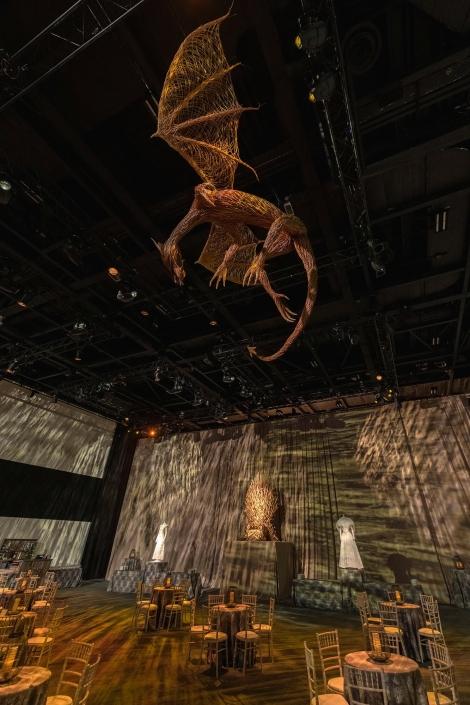 Willow Dragon Sculpture