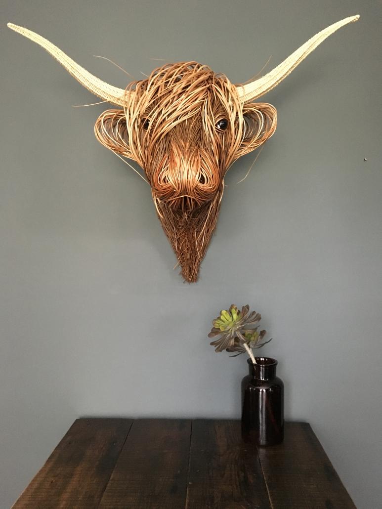 Highland Trophy Head