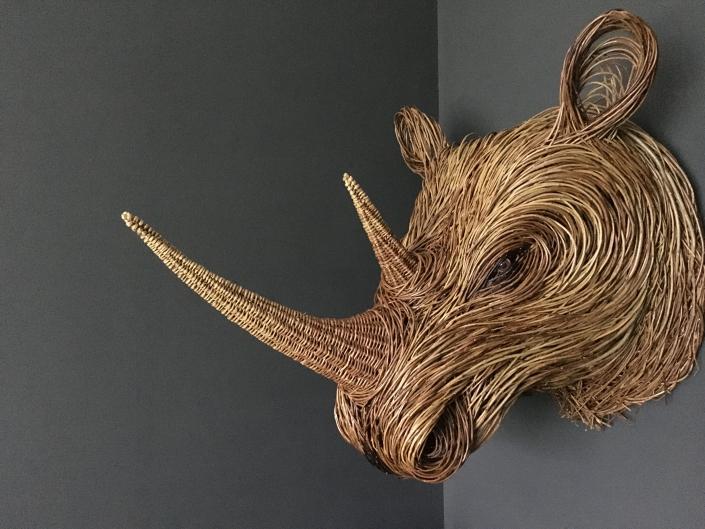 Rhino Trophy Head